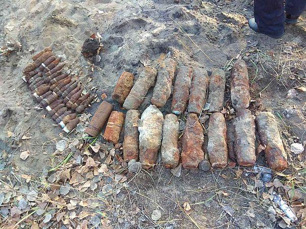 В Самарской области уничтожили снаряды времен Гражданской войны | CityTraffic