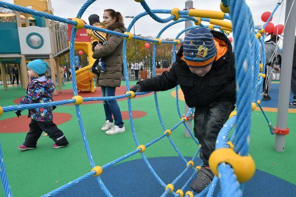 Рядом со стадионом  «Самара Арена» открылся детский инклюзивный парк | CityTraffic