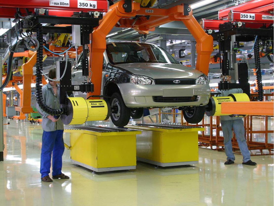 АВТОВАЗ утвердил планы производства играфик работы до конца 2010 года