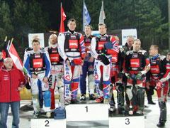 Сборная России одержала победу вчемпионате мира по мотогонкам на льду