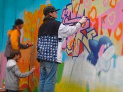 Уличные художники разрисуют пустующий забор в7‑ом квартале
