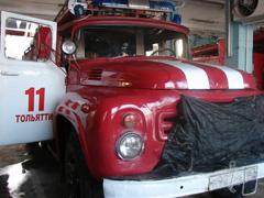 Юным тольяттинцам расскажут оработе пожарных частей