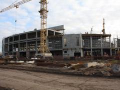 Ледовый Дворец спорта «ЛАДА-АРЕНА» будет введен вэксплуатацию вдекабре 2012 года