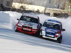 Спортивная LADA Kalina стала лучшей на чемпионате России по зимнему треку
