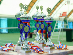 В Тольятти проходит командное Первенство России по теннису