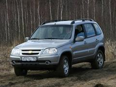 GM-AVTOVAZ представляет автомобиль Chevrolet NIVA сусиленной внедорожной подготовкой