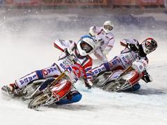 Итоги 1этапа Командного Чемпионата России по мотогонкам на льду
