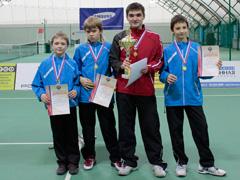 Тольяттинцы завоевали золотые медали командного первенства России по теннису среди спортсменов до 13-тилет