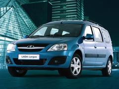 LADA Largus стал автомобилем года-2013 вРоссии вноминации «Перевозчики»