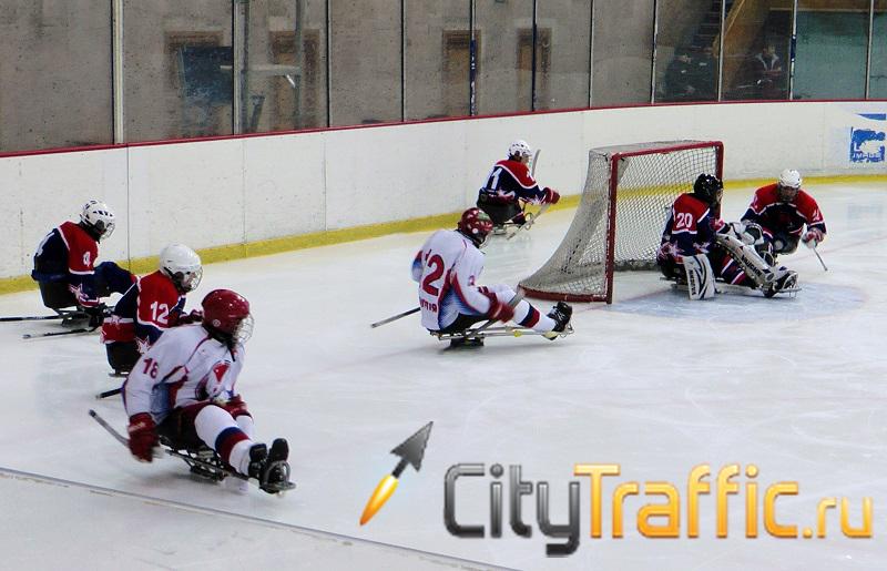 Посмотреть на первый в истории Тольятти матч по следж-хоккею собрался почти полный зал «Волгаря» (видео) | CityTraffic