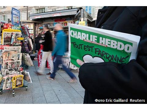 """рассказала """"СитиТрафику"""" освоем """"прочтении"""" карикатур Шарли Эбдо ио ситуации, которая раскручивается сегодня вокруг трагической гибели журналистов."""