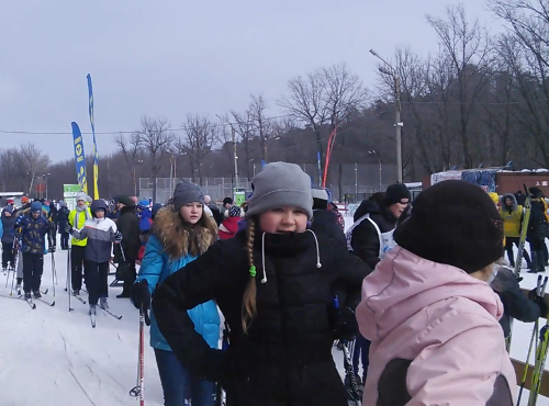 В Тольятти на лыжи встали рабочие идети (видео)