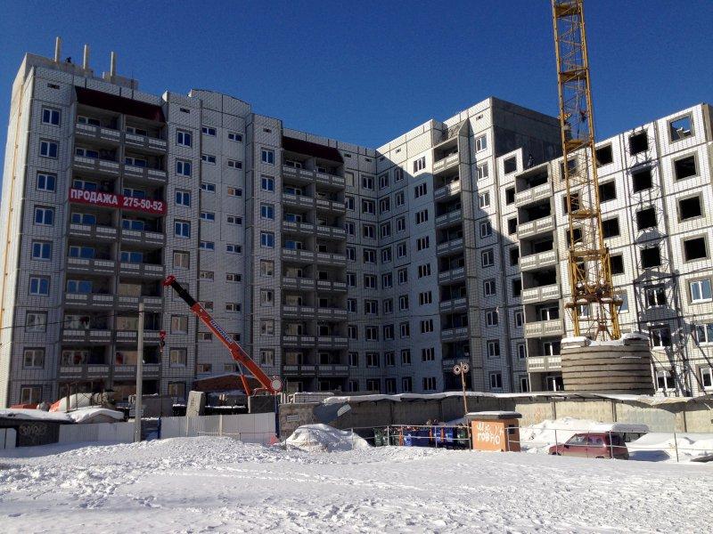 Новый многоквартирный дом строится вСамаре
