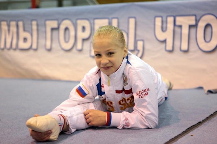 Тольяттинская гимнастка выиграла две медали вИталии