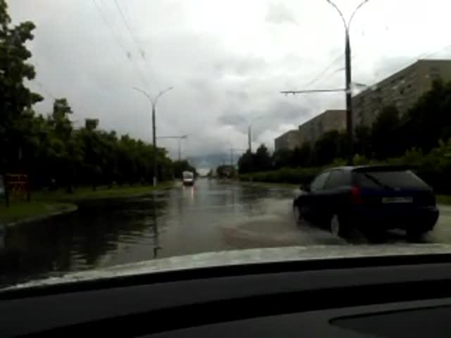 """ГАИ Тольятти рассказала, вкаких местах города можно """"поплыть"""""""