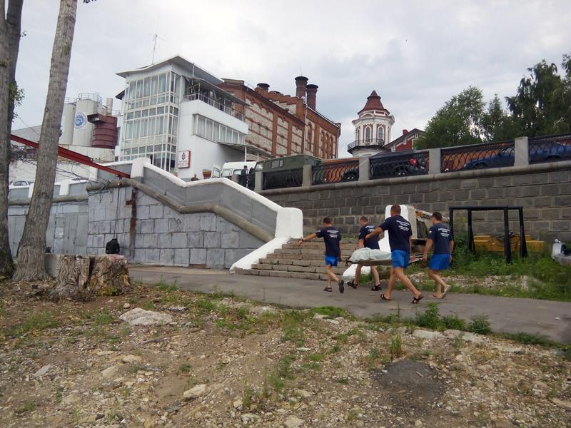 На рассвете в Тольятти горел торговый павильон | CityTraffic