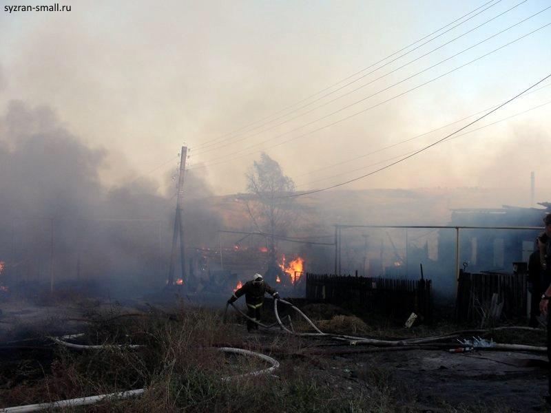 СК Самарской области начал проверку обстоятельств гибели женщины идевочки на пожаре вСызрани