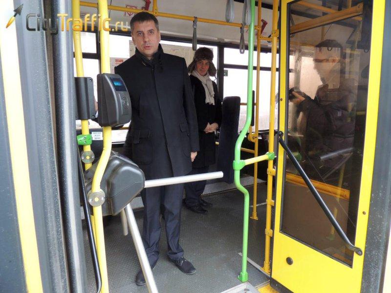 В автобусах Тольятти могут поставить турникеты