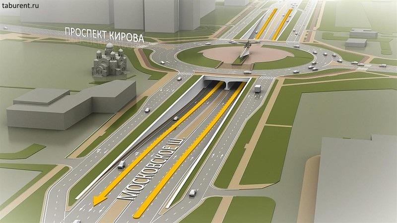 Внимание: вСамаре на кольце Московское шоссе-проспект Кирова впраздники изменится схема движения