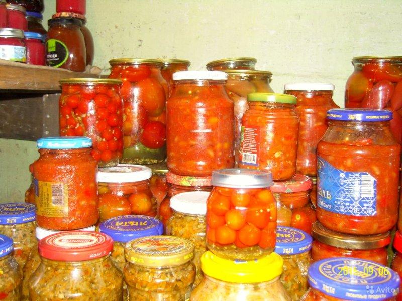 В Самаре упенсионера украли 40 кг овощей и100 банок консервированных запасов
