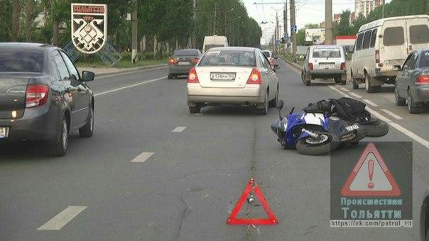 "В Тольятти опрокинулась ""Ямаха"" с девушкой за рулем | CityTraffic"