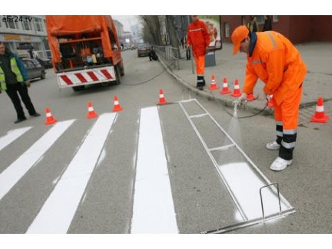 В Самаре сделают дорожную разметку за 2миллиона рублей