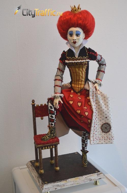 """Выставка авторской куклы """"Страна чудес"""""""