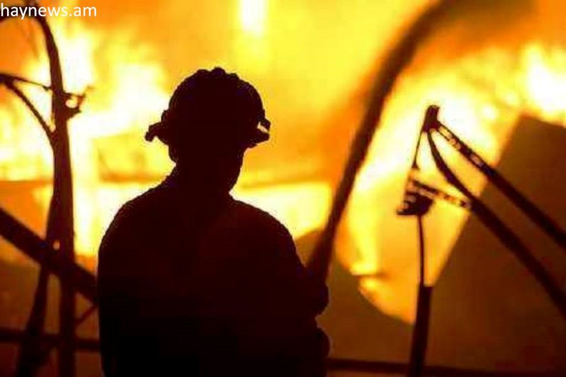 В пригороде Тольятти сгорел частный дом