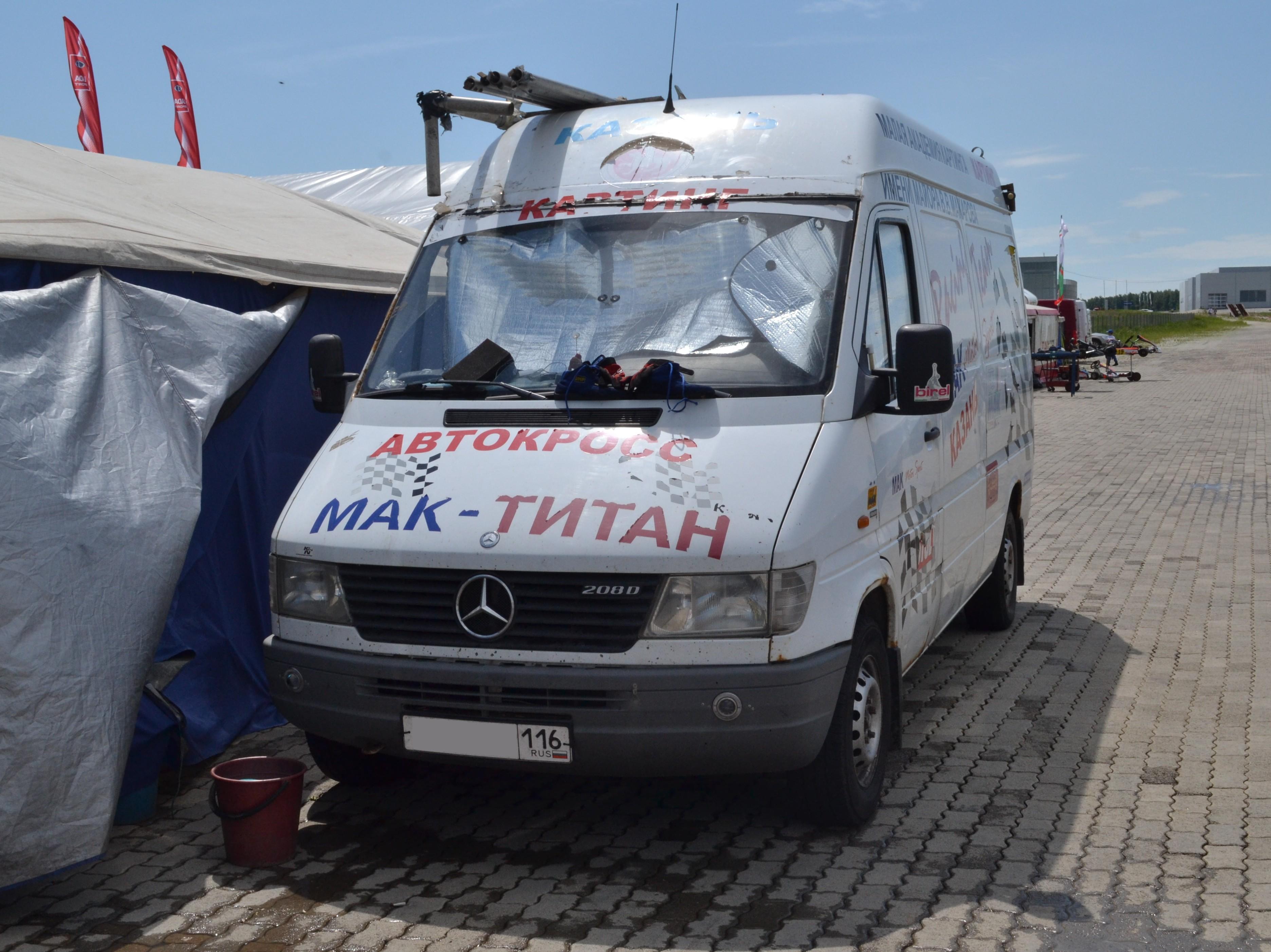 В России отзывают микроавтобусы ифургоны Mercedes
