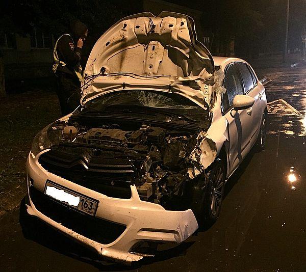 В Самаре на проспекте Металлургов пьяный водитель насмерть сбил человека на пешеходном переходе