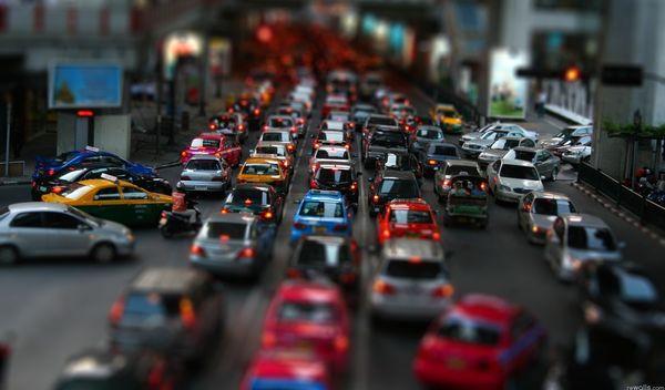 Самара вошла втройку региональных центров ссамым большим количеством машин на дорогах