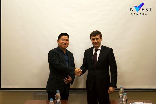 Инвесторы из Китая рассматривают возможность организации вСамарской области производства майнеров