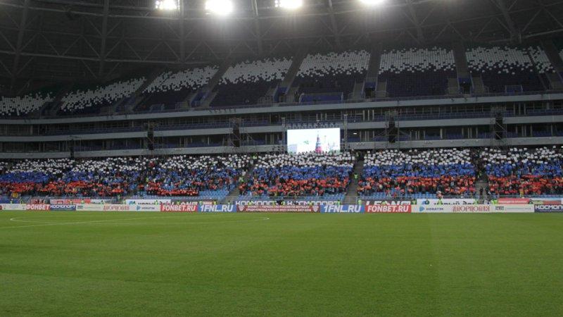 """На первый тестовый матч на стадион """"Самара Арена"""" пришло почти вполтора раза больше зрителей, чем планировали чиновники"""