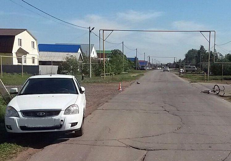 В Самарской области сбили 11-летнего велосипедиста