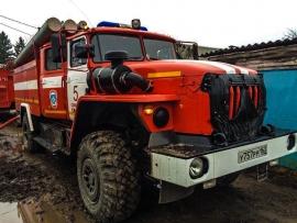 Ночью в Кировском районе Самары горела дача | CityTraffic
