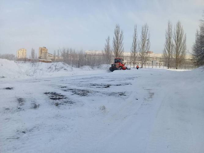 В Тольятти готовят площадку под строительство легкоатлетического манежа