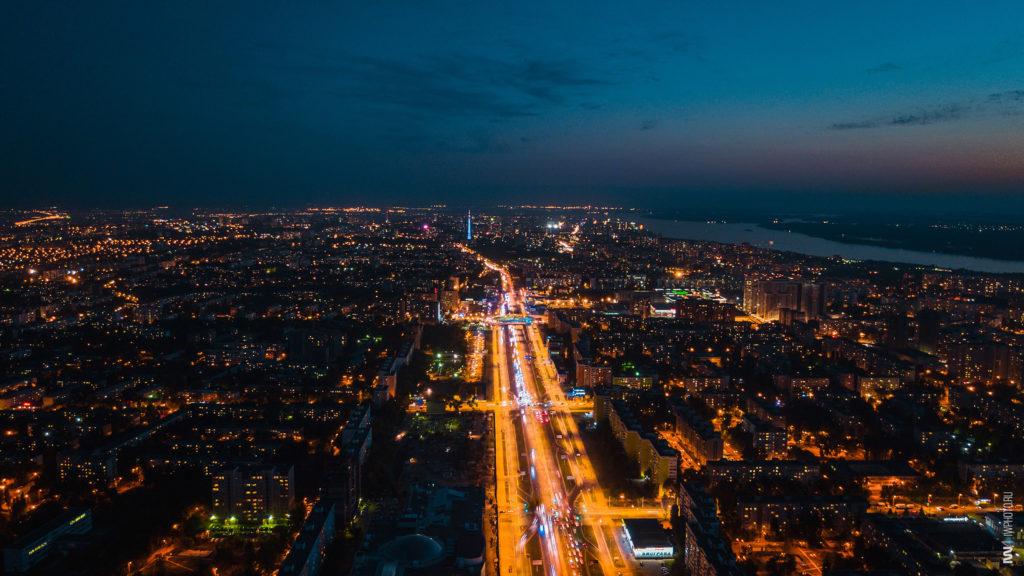 Жители Самары ночью увидели яркие вспышки в небе: видео | CityTraffic