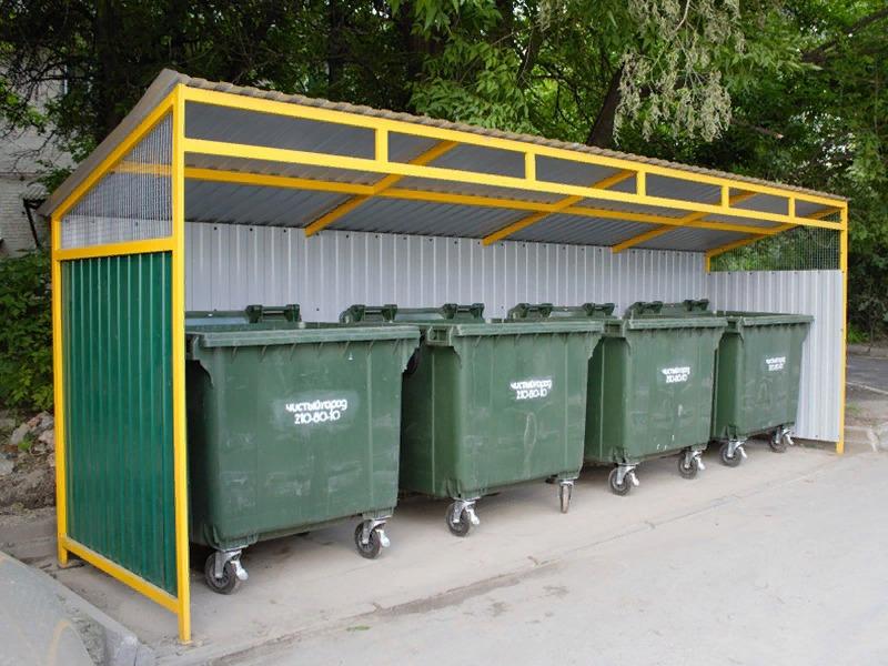 В Самаре 10 млн рублей выделят на ремонт контейнерных площадок для мусора | CityTraffic