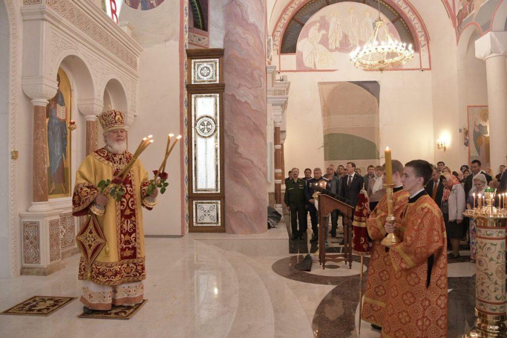 В Самаре прошло первое пасхальное богослужение в Софийском соборе | CityTraffic