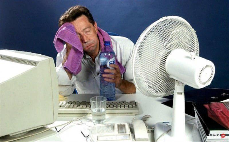 Жителям Самарской области рекомендуют не работать при сильной жаре