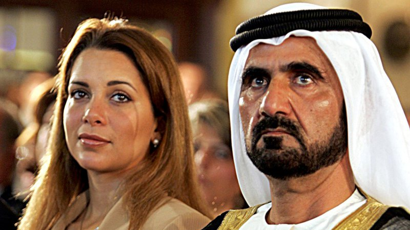 От эмира Дубая сбежала жена, прихватив ссобой детей инесколько десятков миллионов долларов
