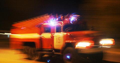 Ночью вСызранском районе пожарные тушили горящую лодку