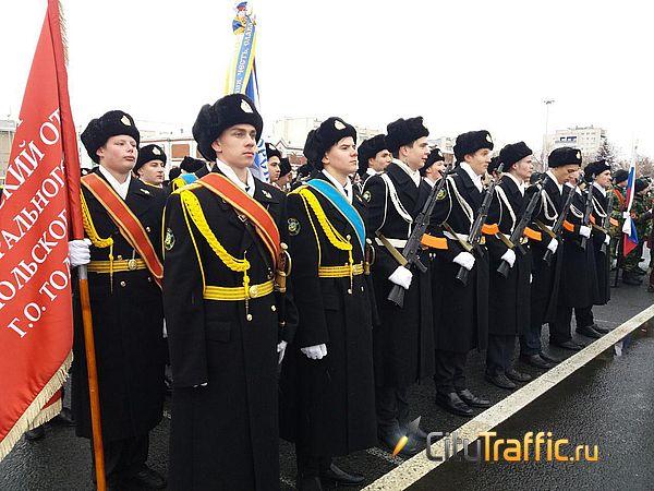 В Самаре юнармейцы отметили 100-летие Калашникова маршем | CityTraffic