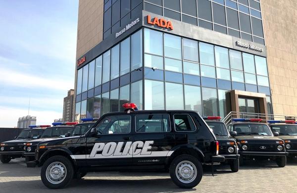 АВТОВАЗ снабдил автомобилями полицию Монголии | CityTraffic