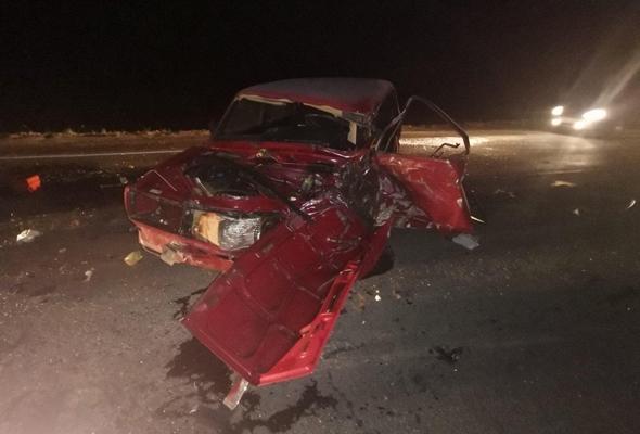 В Самарской области столкнулись «Жигули» и «Мерседес», один человек погиб | CityTraffic