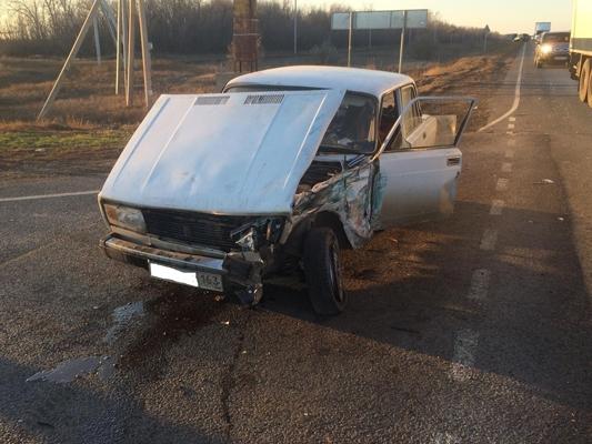 На автодороге «Самара-Большая Черниговка» водитель «Нивы» при обгоне протаранил «пятерку» | CityTraffic