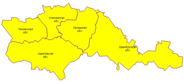В Самарской области из-за сильного ветра на понедельник объявлен желтый уровень погодной опасности | CityTraffic