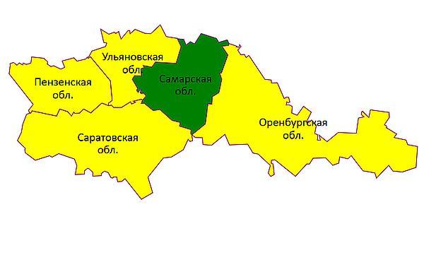 Самарская область - вне зоны желтого уровня метеоопасности | CityTraffic