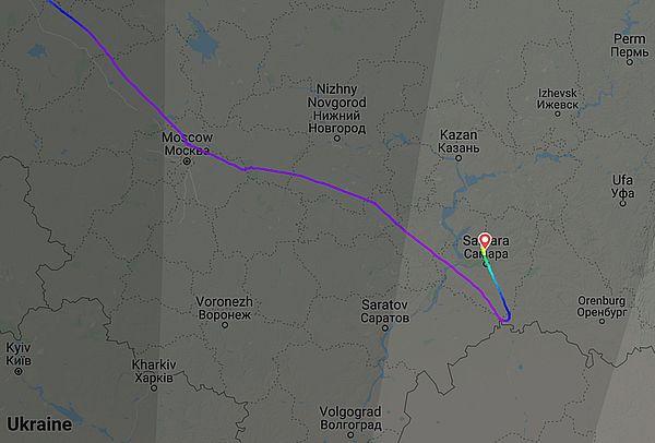 В Самаре экстренно сел борт, летевший из Питера в Узбекистан | CityTraffic