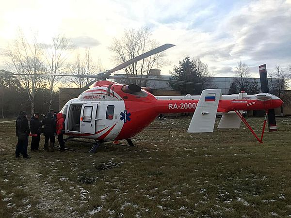 Пациента из Тольятти доставили на вертолете всоседнюю область: видео
